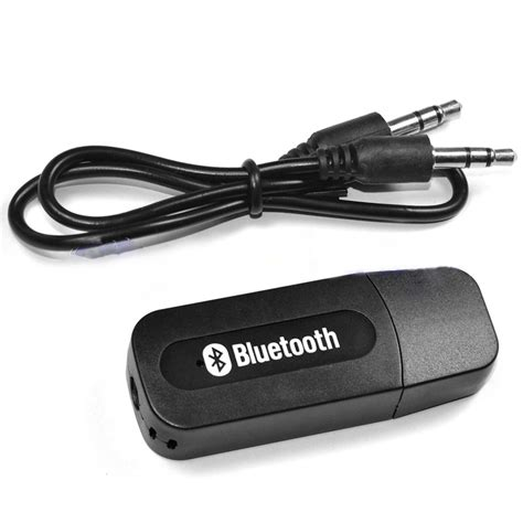 Usb Bluetooth Receiver portable black usb bluetooth audio receiver wireless