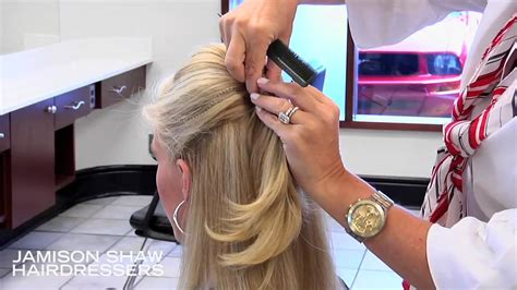 hair front bump tutorials how to create a bang bump and half ponytail hairstyle