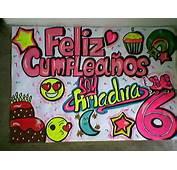 Pancarta Colorida Soy Luna Personalizada  Bs 3500000