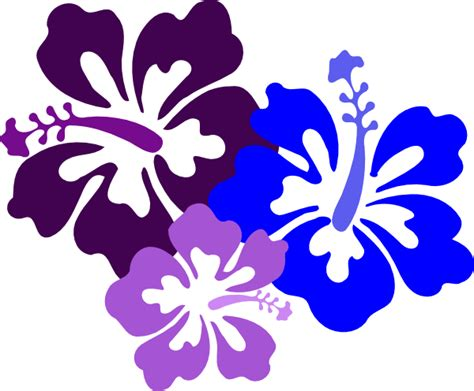 Hawaiian Flowers Clipart hibiscus 23 clip at clker vector clip royalty free domain