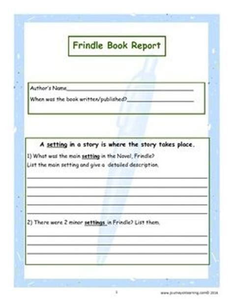 frindle book report frindle culminating activities frindle activities and