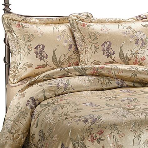 buy croscill 174 california king comforter set in iris from