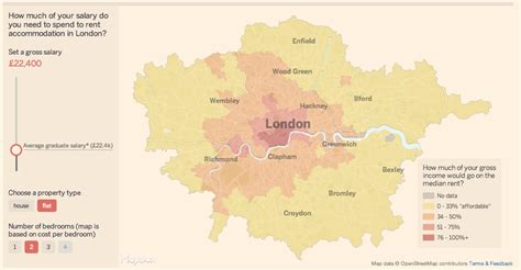 mapping house prices and rents mapping