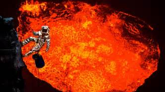 which side does st go on inside a volcano explorer travels to the world s most