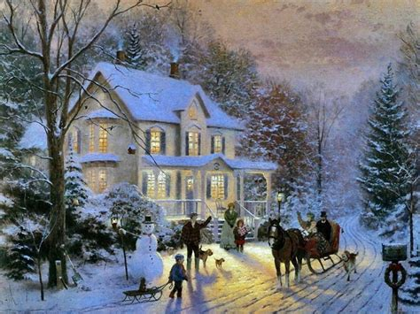 kinkade home for the holidays thing no place like home for the