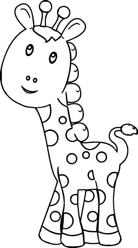 preschool coloring pages giraffe giraffe preschool coloring page wecoloringpage