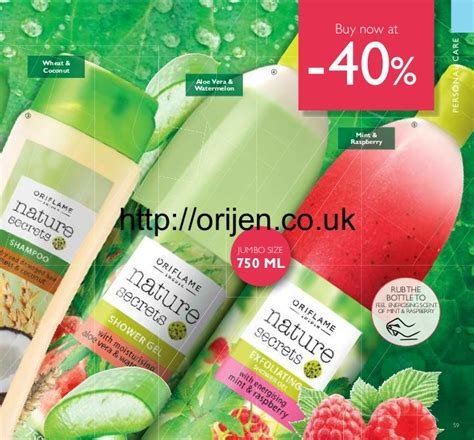 Nature Secrets Almond Strawberry Colour Care Hair Mask oriflame catalogue uk 07 2016