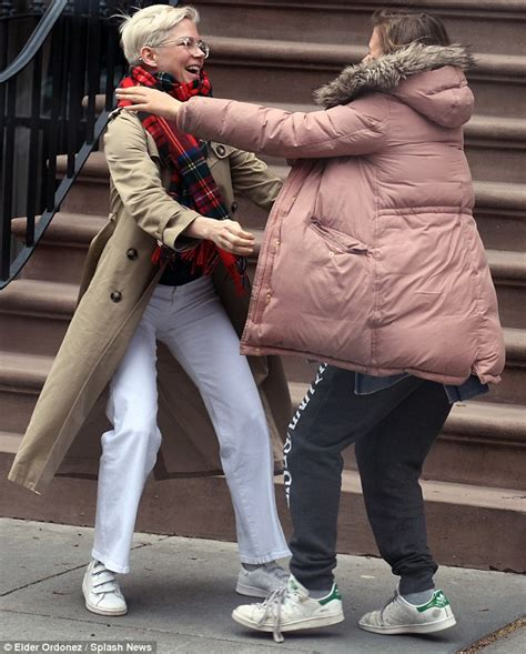 Michelles Arrives At Nyc Apt This Morning by Williams Arrives Home To Hugs From