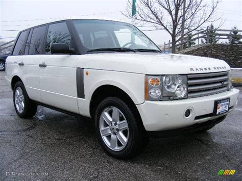 2003 white range rover 2003 chawton white land rover range rover hse 24900935