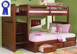best bunk bed best bunk beds with stairs the 10 top rated bunk beds
