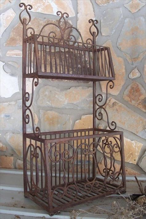 rod iron home decor wrought iron bin eclectic home decor austin by