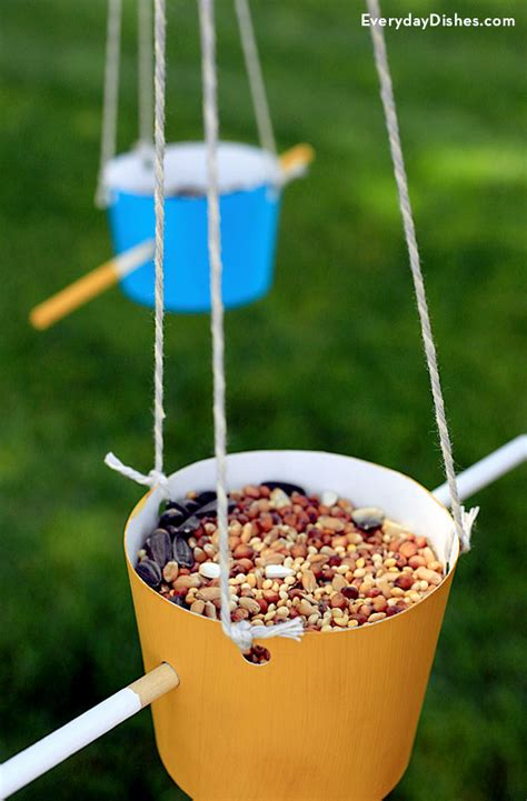 bird feeder craft for easy bird feeder craft