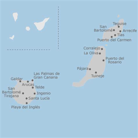 mapa de las palmas provincia idealista