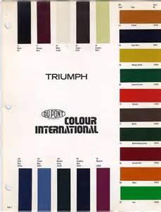 triumph tr4a body paint colours triumph tr4a irs rebuild