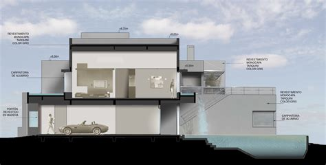 home design concepts kansas city modern waterfall house by andres remy architects argentina architectural drawing