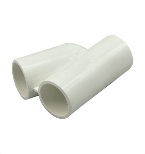 plastic tee section y shape pvc pipe fittings for massage tub view y shape