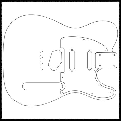stratocaster routing template telecaster guitar routing templates faction guitars