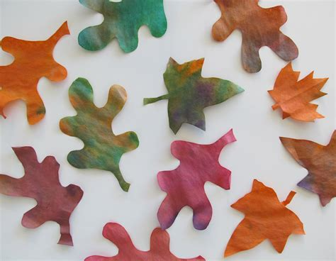 leaf craft for fall leaves craft ideas activities