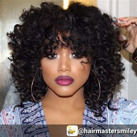sew in styles with big curls and bangs 107 best crochet braids images on pinterest braid hair