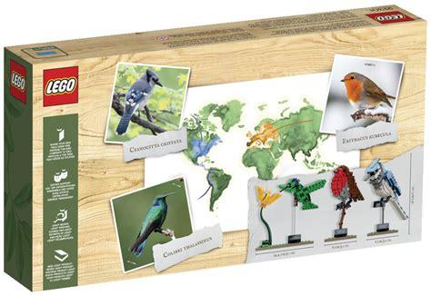 Lego Birds Set lego birds 21301 lego ideas 2015 set released bricks and bloks