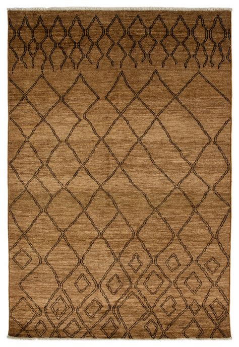 6x9 Wool Rug by Moroccan Wool Area Rug Gold 6x9 Transitional Area