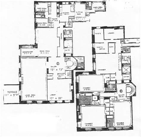 740 park avenue floor plans 740 park image display