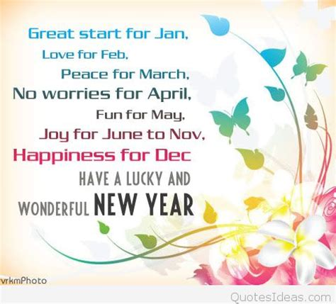 best wishes for a new year quotes