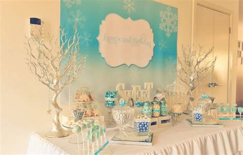 theme names for winter party frozen winter wonderland printable backdrop little