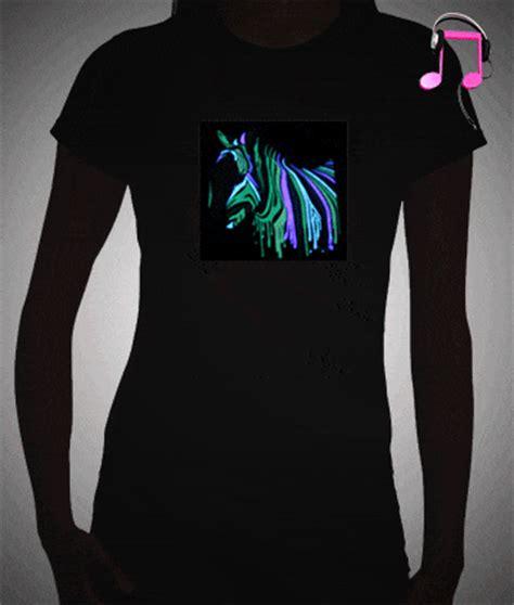 light up t shirt led shirts for women female light up t shirts
