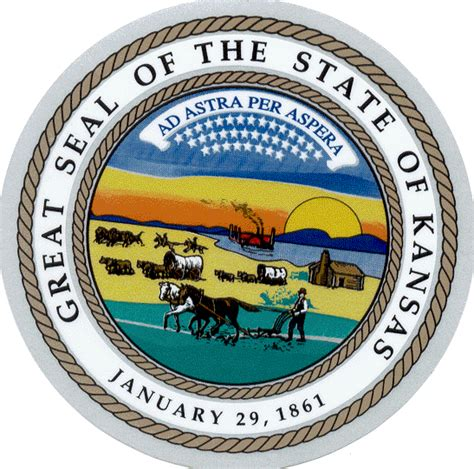 Kansas The 34th State by Maggie Celebrates Vault Into Kansas History