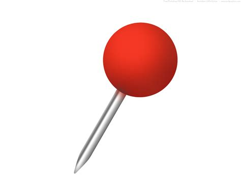 red push pin cliparts co