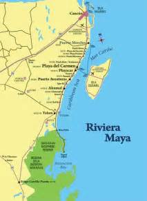 Riviera Maya Mexico Map by Mexican Riviera 101 Just The Basics The Real Mexican