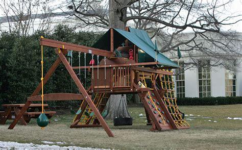 White House Swing Set Comes From South Dakota Company