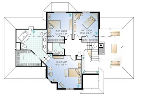 european house plan boasts cozy floor plan 21015dr