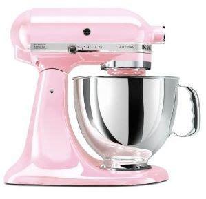 pink kitchen appliances baby pink mixer home decor