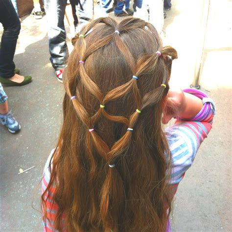 elastic hair band hairstyles weave hairstyles with rubber bands