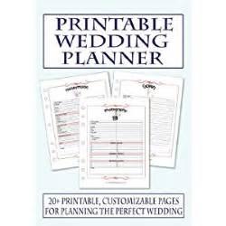 find a wedding planner free printable wedding planning worksheets