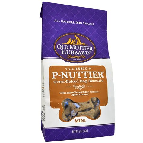 hubbard treats hubbard p nuttier biscuits mini 5 oz healthypets