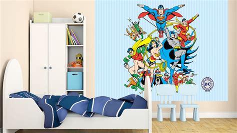 decoracion de habitación con fotos decoraci 243 n superh 233 roes dc comics para habitaciones
