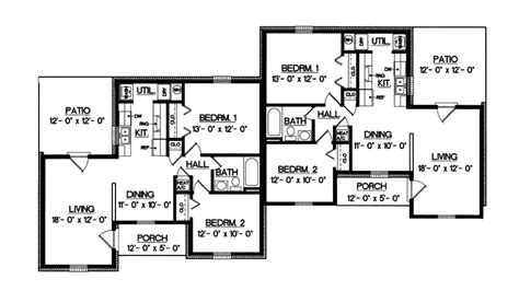 ranch duplex floor plans ranch duplex house plans www pixshark com images