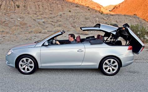 2007 volkswagen eos first drive review motor trend