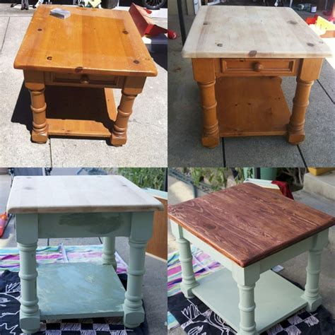 repurposed furniture phoenix 17 best ideas about refinished end tables on pinterest