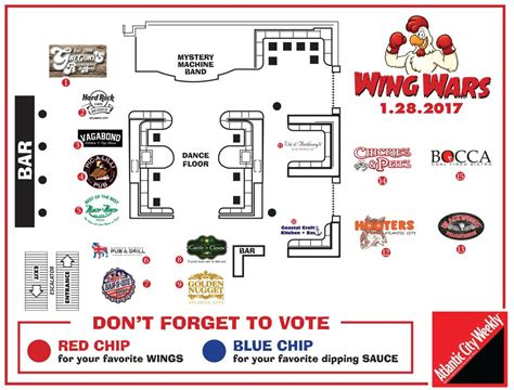 golden layout resize event the inaugural wing wars lands at golden nugget events