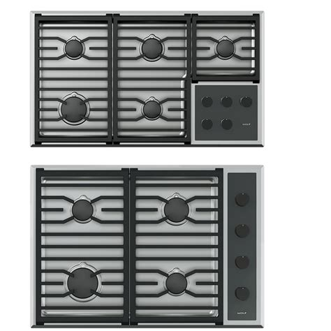 Wolf Gas Cooktop Knobs by Gas Cooktops Wolf New Generation Sub Zero Wolf