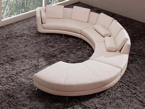 round sectional sofa white italian leather round sectional sofa 20 sectionals