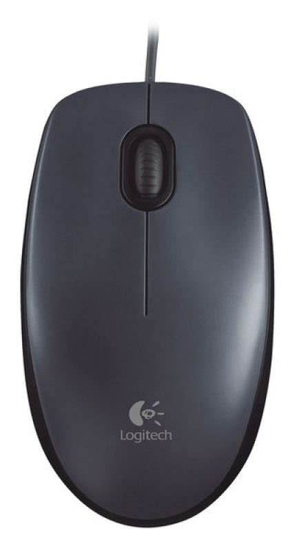 Logitech Optical Mouse M90 logitech m90 wired optical mouse usb ebuyer
