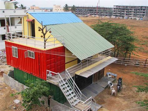 Diy Shipping Container Home Builder Ideas Container Solutions Unveils India S Shipping Container Home In Bangalore Inhabitat