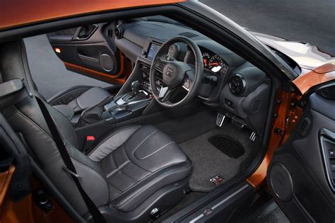 nissan gtr black edition interior significantly improved 2017 nissan gt r on sale now in