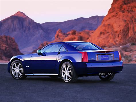 cadillac xlr exotic car pictures 012 of 25 diesel station 2004 cadillac xlr rear angle mountains top up 1600x1200 wallpaper