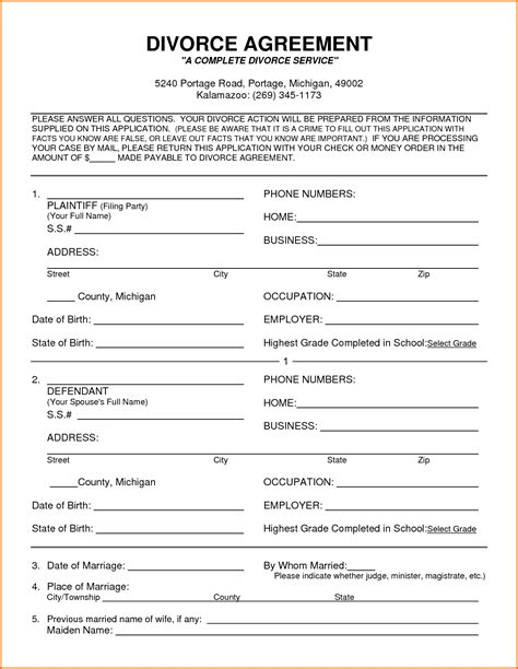 how to make divorce papers 28 images divorce papers
